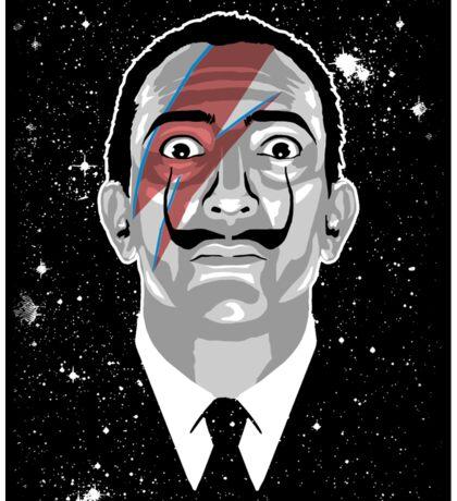 Dalí Stardust (sticker) Sticker