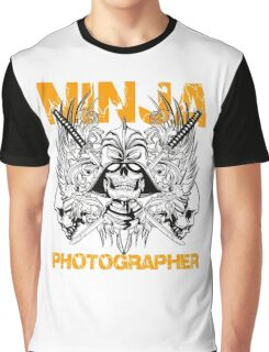 Ninja Photographer Graphic T-Shirt