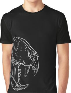 Tiger skull - big size Graphic T-Shirt