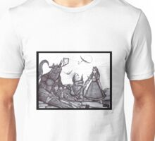 Giant Girls and Friendly Monsters Unisex T-Shirt
