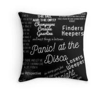 Panic At The Disco, Panic!,PATD Throw Pillow