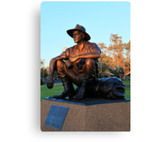 The Cunnamulla Fella Canvas Print