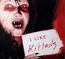 Angela Loved Kittens and Sending People to Hell by Jason Edward Davis