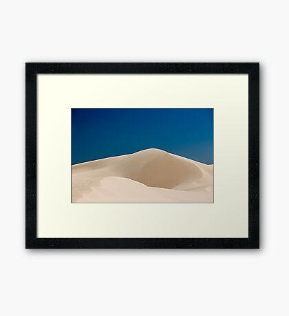 Sand Dune Mungo National Park Framed Print