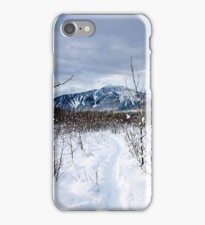 Snow day Revelstoke  iPhone Case/Skin