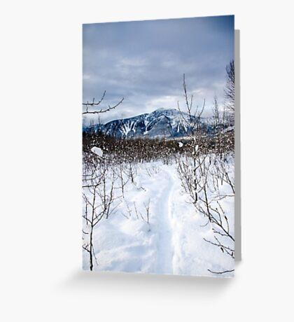 Snow day Revelstoke  Greeting Card