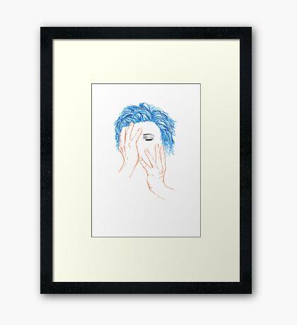 """""""Hero"""" Framed Print"""