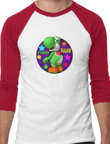 Yoshi Rules! Men's Baseball ¾ T-Shirt
