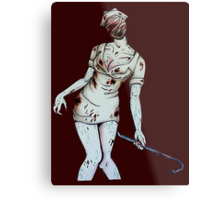 Silent Hill Nurse Metal Print