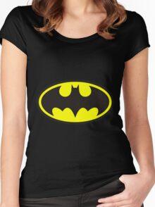 batman Women's Fitted Scoop T-Shirt