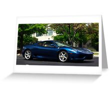 Ferrari 360 Coupe  Greeting Card