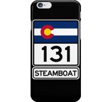 CO-131 - Steamboat Springs, Colorado iPhone Case/Skin