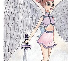 Angel by krippykrip