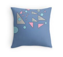 Triangle Emptiness Throw Pillow