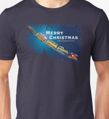 Merry Christmas, Air cooled style Unisex T-Shirt