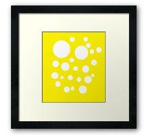SpongeFrank Framed Print