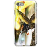 Gate-Keeper of the Mechanids [Digital Fantasy Figure Illustration] iPhone Case/Skin