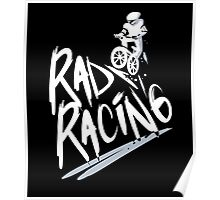 Rad Racing Vintage 80s T-Shirt Poster