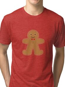 Gingerbread Man Tri-blend T-Shirt