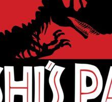Yoshi's Park Sticker