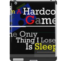 Hardcore Gamer Art Print iPad Case/Skin