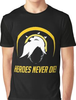 OVERWATCH HEROES NEVER DIE Graphic T-Shirt