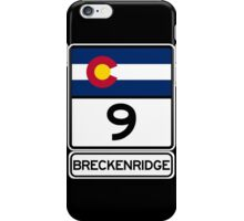 CO-9 Breckenridge Colorado iPhone Case/Skin