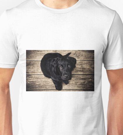 Black Lab Puppy Unisex T-Shirt
