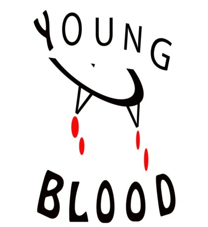 Young Blood Sticker