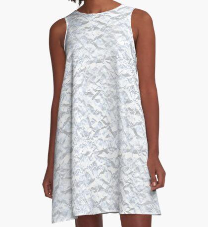 Paper Mountains  A-Line Dress