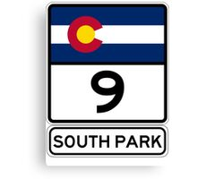 CO-9 SOUTH PARK Canvas Print