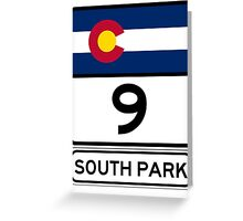 CO-9 SOUTH PARK Greeting Card