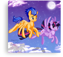 Our first Flight Canvas Print