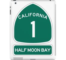 PCH - CA Highway 1 - Half Moon Bay iPad Case/Skin