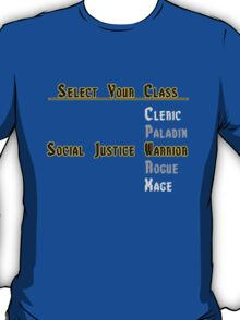 Social Justice RPG T-Shirt