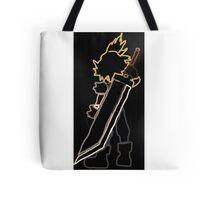 Cloud Strife Final Fantasy Tote Bag