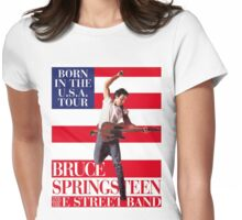 Bruce springsteen 5 Womens Fitted T-Shirt