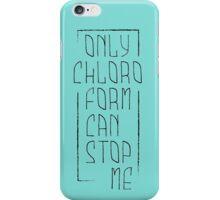 chloroform bis iPhone Case/Skin