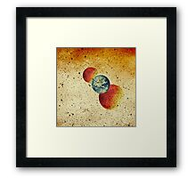 Take me to the moons and back Framed Print