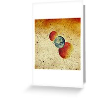 Take me to the moons and back Greeting Card