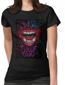 suicide squade Womens Fitted T-Shirt