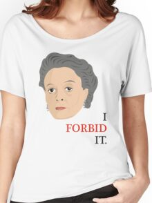 Downton Abbey - Maggie Smith - Violet Crawley Women's Relaxed Fit T-Shirt