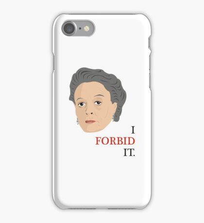 Downton Abbey - Maggie Smith - Violet Crawley iPhone Case/Skin