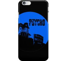 Vacancy (blue) iPhone Case/Skin