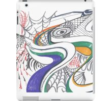 Walking in the Spider Web iPad Case/Skin