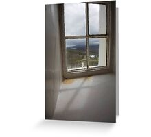 the lighthouse keepers house Greeting Card