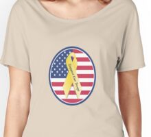 Support Our American Troops Women's Relaxed Fit T-Shirt