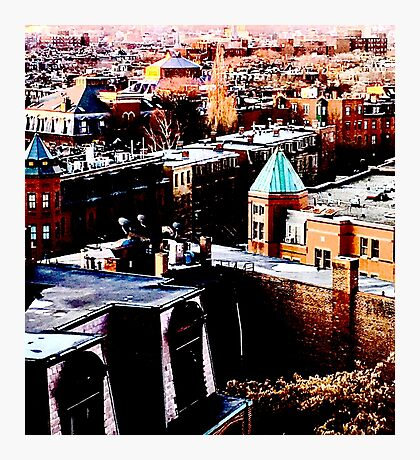 South End, Boston MA Photographic Print