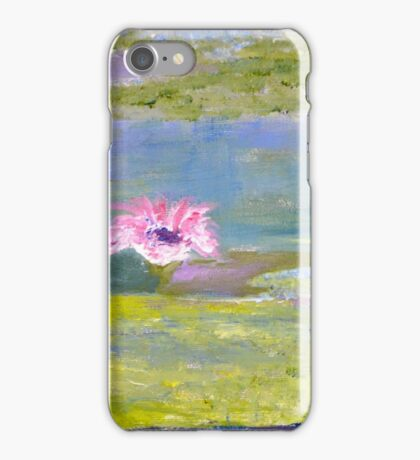 Lily Pond 1 iPhone Case/Skin