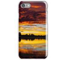 Ontario Sunset - Art, Apparel, and Home Decor iPhone Case/Skin